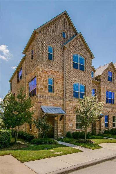Irving Townhouse For Sale: 6466 Riviera Drive