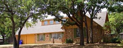 Colleyville Single Family Home For Sale: 516 Hillside Road