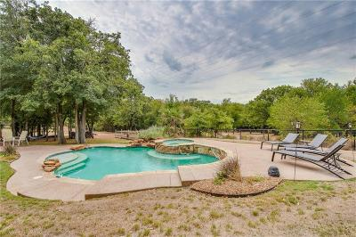 Weatherford Single Family Home For Sale: 176 Overton Ridge Circle