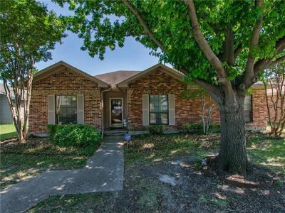 Rowlett Single Family Home For Sale: 7210 Alissa Drive