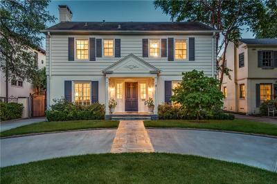 Highland Park, University Park Single Family Home For Sale: 4505 Belfort Avenue