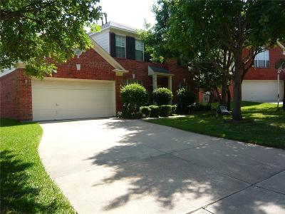 Grapevine Single Family Home Active Option Contract: 713 Ruby Court