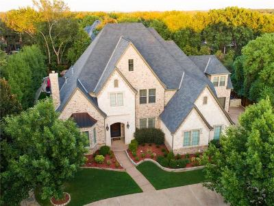 Colleyville Single Family Home For Sale: 4615 Lakeside Drive