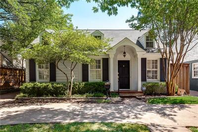 Highland Park, University Park Single Family Home For Sale: 4409 Mockingbird Lane