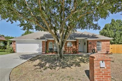 North Richland Hills Single Family Home Active Option Contract: 7737 Sagebrush Court N