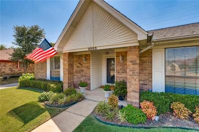 Plano Single Family Home Active Option Contract: 4003 Mountain Pass Drive