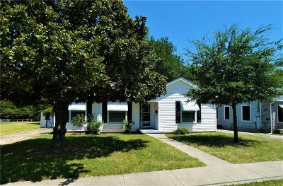 Mckinney Single Family Home For Sale: 1712 West Street