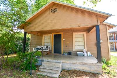 Stephenville TX Single Family Home For Sale: $85,000