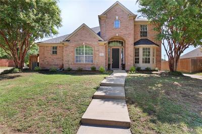 Carrollton Single Family Home Active Option Contract: 3812 Trailview Drive