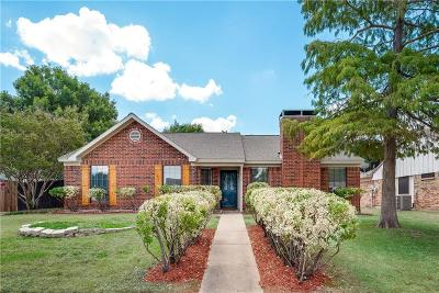 Lewisville Single Family Home Active Option Contract: 754 Meadowlark Drive