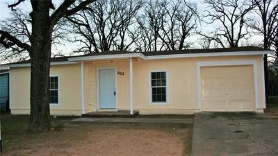 Fort Worth Single Family Home For Sale: 6512 Ramey Avenue