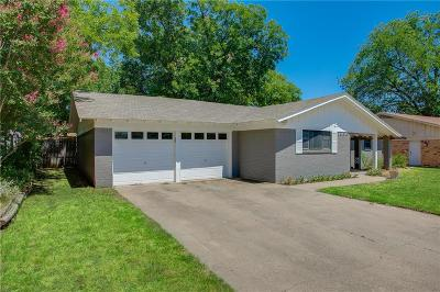 Hurst Single Family Home Active Contingent: 1020 W Creek Drive