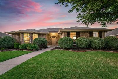 Frisco Single Family Home Active Option Contract: 4130 Parterre Drive