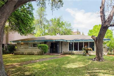 University Park Single Family Home For Sale: 4100 Caruth Boulevard
