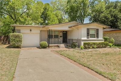 Arlington Single Family Home Active Contingent: 1513 Juanita Drive