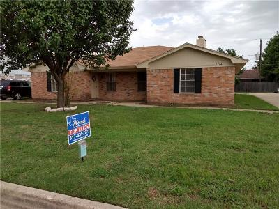 North Richland Hills Residential Lease For Lease: 7712 Westcliff Street