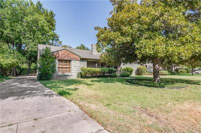 Fort Worth Single Family Home For Sale: 3612 Brighton Road