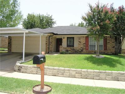 Watauga Single Family Home Active Option Contract: 6304 Old Mill Circle