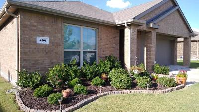 Van Alstyne Single Family Home For Sale: 406 Dartmouth Drive