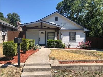 Mckinney Single Family Home For Sale: 1207 E Virginia Street