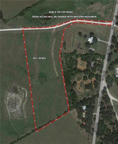 Weatherford Farm & Ranch For Sale: Tin Top Road