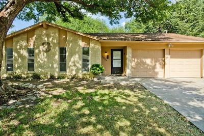 Richland Hills Single Family Home Active Option Contract: 2805 Cecil Drive