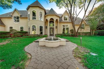Flower Mound Single Family Home For Sale: 2825 Creek View
