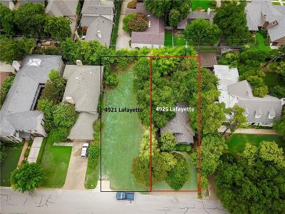Fort Worth Single Family Home For Sale: 4925 Lafayette Avenue