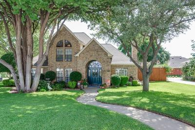 Grapevine Single Family Home Active Option Contract: 3501 Edgehill Street