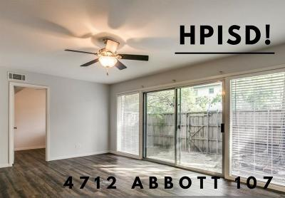 Highland Park, University Park Condo For Sale: 4712 Abbott Avenue #107