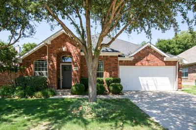 Frisco Single Family Home Active Option Contract: 11926 Henderson Drive