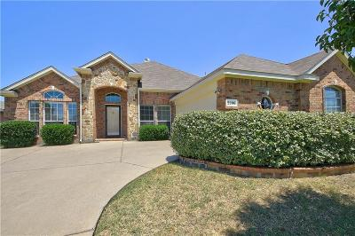 Forney Single Family Home Active Option Contract: 2206 Milan