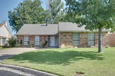 Fort Worth Single Family Home Active Option Contract: 4555 Sugar Bush Court