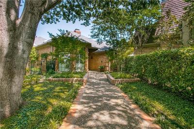 Dallas Single Family Home For Sale: 6 Duncannon Court