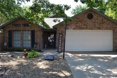 Sulphur Springs TX Single Family Home Active Option Contract: $153,000