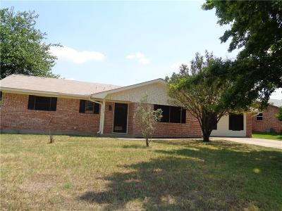 Stephenville TX Single Family Home For Sale: $153,000