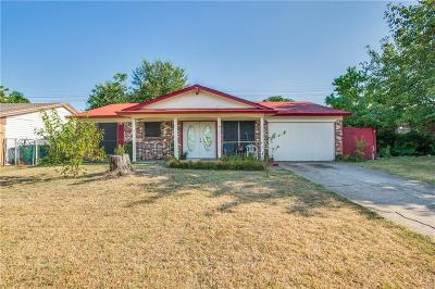 Lewisville Single Family Home Active Option Contract: 714 Dewberry Drive