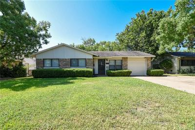 Mesquite Single Family Home Active Option Contract: 2116 Spiceberry Lane