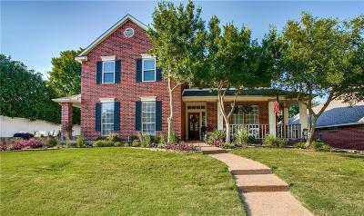 Rockwall Single Family Home Active Option Contract: 837 Hunters Glen