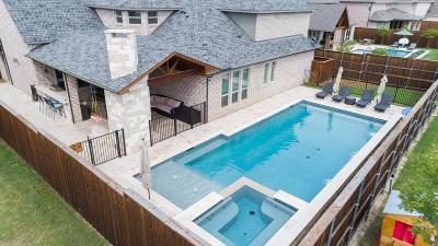 Frisco Single Family Home Active Option Contract: 3805 Benchmark Lane