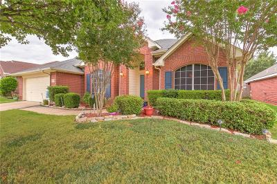 Mansfield Single Family Home Active Option Contract: 2214 Richmond Circle