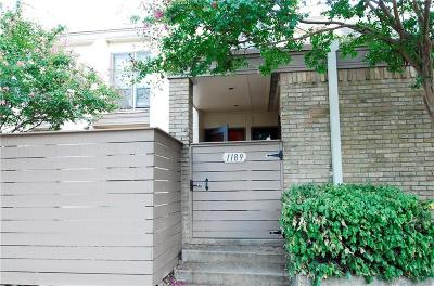 Townhouse For Sale: 3121 Park Lane #1189