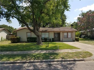 Dallas Single Family Home For Sale: 8320 Bunche Drive