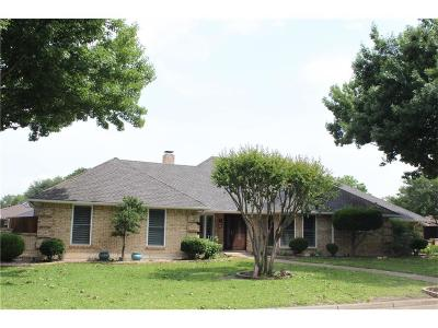 North Richland Hills Single Family Home Active Option Contract: 6520 Lake Side Circle