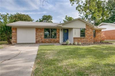 Denton Single Family Home For Sale: 1105 Laguna Drive