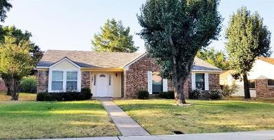 Lewisville Single Family Home Active Option Contract: 407 Wind Wood Drive