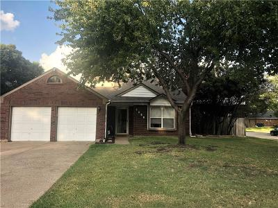 Flower Mound Single Family Home Active Contingent: 5400 Carriage Court