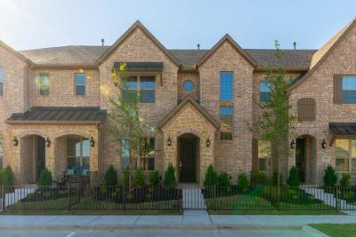 Frisco Townhouse For Sale: 6259 Rainbow Valley Place
