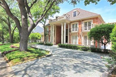 Dallas  Residential Lease For Lease: 17615 Cedar Creek Canyon Drive #A