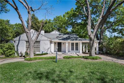 Dallas Single Family Home Active Contingent: 1312 Eastus Drive